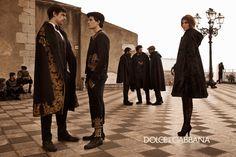 Dolce & Gabbana - Gallery Campagna Uomo - Autunno Inverno 2013