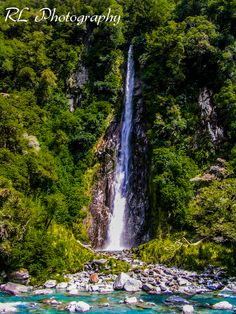 Thunder Creek Falls, Mt Aspiring National Park, New Zealand — by Together is our favorite place to be. Thunder Creek Falls is located in Mt Aspiring National Park, in the south island of New Zealand. It's a 28 meters...