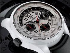 Limited to just 20 pieces: Girard Perregaux White Ceramic WW.TC Timer Chronograph