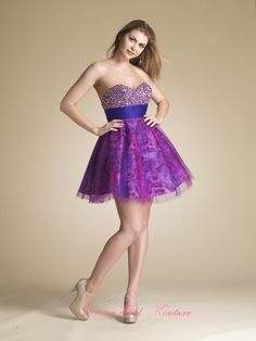 Playful Sparkling Bust #DaveandJohnny Style 8053 best for #homecoming2012 $178.00