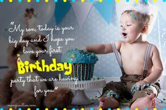 You may not remember the flavor of your first birthday cake, but you will always feel the warmth and love that your parents put into making it a special one First Birthday Wishes, First Birthday Cakes, First Birthday Parties, Love Yourself First, 1st Birthdays, Children And Family, Family Life, Big Day, You And I
