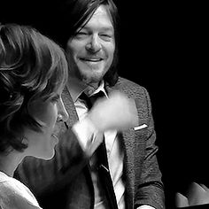 GIF_norman reedus black and white | Tag Archives: Norman Reedus suit