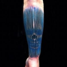 60 Trippy Tattoos For Men - Psychedelic Design Ideas Cool Back Tattoos, Unique Tattoos, Beautiful Tattoos, Tattoos For Guys, Amazing Tattoos, Alex Grey Tattoo, 3d Tattoos, Music Tattoos, Forearm Tattoos