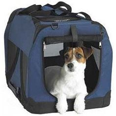 A highly popular light weight collapsible canvas crate for maximum portability. Great for those who travel a lot with their pets. Available in 7 sizes.