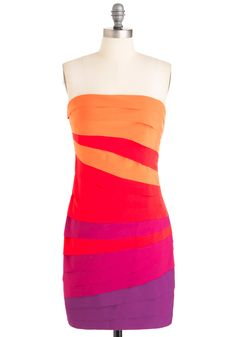 Fun Sets in the West Strapless Dress  $72.99