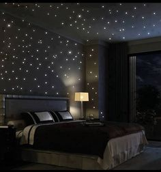 Love these bedroom ideas. The Starry Night and Gray and Teal are probably my faves.