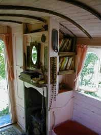 Vardo Interior by Shirley Two Feathers, via Flickr