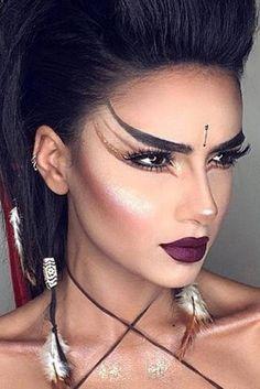 39 sexy halloween makeup looks that are creepy yet cute # creepy . - 39 sexy halloween makeup looks that are creepy yet cute - Unique Makeup, Cute Makeup, Pretty Makeup, Beauty Makeup, Cheap Makeup, Awesome Makeup, Perfect Makeup, Gorgeous Makeup, Beautiful Halloween Makeup