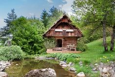 Vacation Rentals, Homes, Experiences & Places - Airbnb - Romantic cottage in Carinthia in Trieblach. Romantic Cottage, Shabby Cottage, Cozy Cottage, Shabby Chic Homes, Fairytale Cottage, Camping 3, Camping Cabins, Carinthia, Tiny House Living