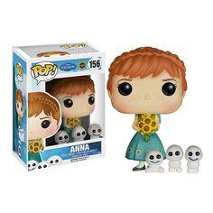 Disney Frozen Fever Anna Pop! Vinyl Figure - Funko - Frozen - Pop! Vinyl Figures at Entertainment Earth