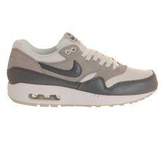 Nike Air Max 1 (l) White Wolf Grey - Hers trainers
