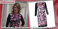 Want to know where Charlotte Hawkins got her dress from on Good Morning Britain? Style on Screen can tell you! Charlotte Hawkins, Good Morning Britain, Dresses With Sleeves, Long Sleeve, How To Wear, Color, Style, Fashion, Swag
