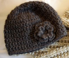 Crocheting the Day Away: Tutorials and Free Patterns..including these cute hats for adults and children