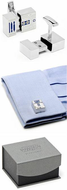 R2-D2 USB Flash Drive Cufflinks