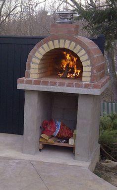 The Tildsley Family Wood Fired DIY Brick Pizza Oven in Massachusetts by BrickWood Ovens