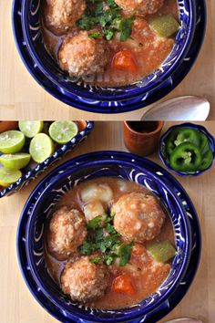 Caldo de Albóndigas (Mexican Meatball Soup) Caldo de Albóndigas (Mexican Meatball Soup) is hearty and tasty comfort food. A delicious soup for your entire troop. Check out this authentic Mexican food recipe By Mama Maggie's Kitchen<br> Authentic Mexican Recipes, Mexican Soup Recipes, Beef Recipes, Cooking Recipes, Healthy Recipes, Irish Recipes, Mexican Sopa, Authentic Food, Cooking Beef
