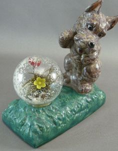 Terrier Dogs CollectiblesTerrier w/ Glass Ball by cerritorose