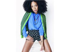 Solange Knowles for Madewell
