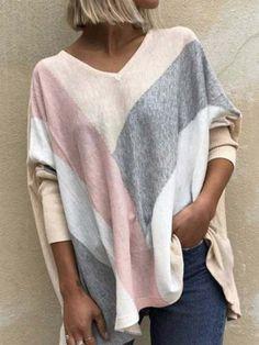 ninacloak.com Pullover, Sweatshirt, Violet Rouge, Batwing Sleeve, Long Sleeve, Batwing Top, Shirt Bluse, Basic Tops, Loose Tops