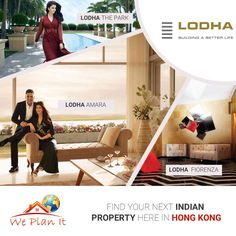 Find your next #Indian #Property here in Hong Kong Visit our #Lodha #Project in #Mumbai : https://www.weplanithk.com/project/lodha/89/ Or Call us at 852-98101465 to fix an Appointment We Plan It - Hong Kong - We are #RealEstate Advisory in #HongKong For #IndianProperty #Investment #Home #SecondHome #NRIInvestment