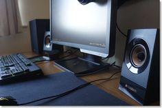 Logitech Z533 Speakers & Bluetooth audio adapter