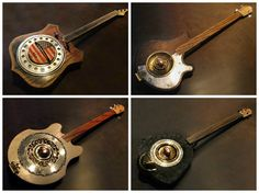 #FoundObjects, #Guitar, #MusicalInstruments, #Upcycled