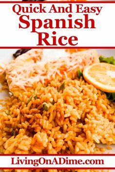 Mexican Side Dishes, Mexican Rice Recipes, Rice Side Dishes, Rice Recipes For Dinner, Homemade Spanish Rice, Spanish Rice Recipe, Buchi Recipe, Portuguese Recipes, Portuguese Food