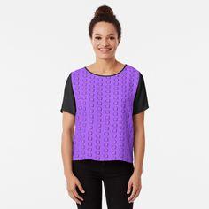 Magenta, Orange And Purple, Rave Festival Outfits, Harlequin Pattern, Pink Daisy, Line Illustration, Black Chevron, Elephant Print, Chiffon Tops