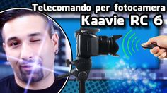 KAAVIE RC 6, telecomando per fotocamere, Unboxing
