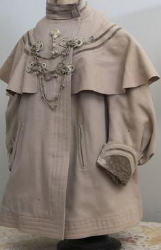 Antique French Original Coat for Large Jumeau Bru Steiner Bebe or German doll
