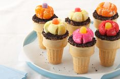 Forget-Me-Not Cones Recipe - Kraft Recipes