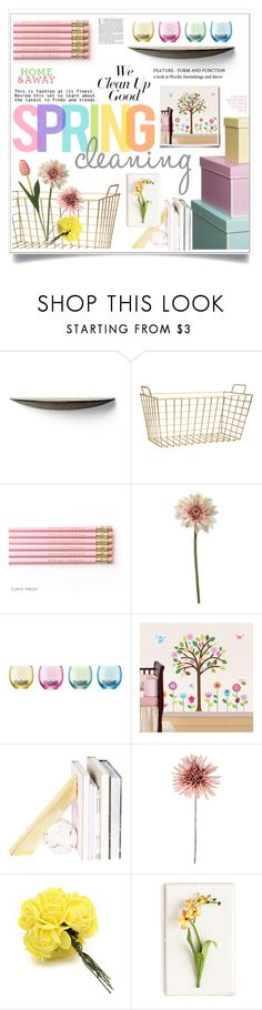 """""""We Clean Up Good: Spring Cleaning"""" by ewa-naukowicz ❤ liked on Polyvore featuring interior, interiors, interior design, home, home decor, interior decorating, Menu, H&M, LSA International and Imm Living"""