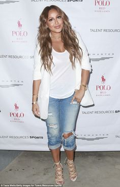 Legal woes: The Real's Adrienne Bailon has reportedly refused to pay $200K in fees and reimbursements to her management company (pictured July 12)