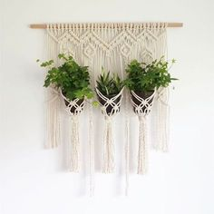 this plant hanger is perfect to display beautiful little plants it'll be up on etsy tonight!