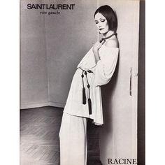 1976 - Saint Laurent Rive Gauche adv - susan moncur by gianpaolo barbieri