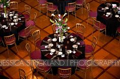 Love the tall centerpieces that add some color to the table settings in the Scottish Rite's Ballroom. Makeup Salon, Cathedral, Centerpieces, Table Settings, Reception, The Incredibles, Events, Fine Art, Friends