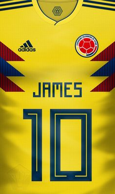 James Rodriguez of Colombia wallpaper. Fifa Football, Best Football Players, Football Uniforms, Football Kits, James Rodriguez Wallpapers, Soccer World Cup 2018, Russia World Cup, Classic Football Shirts, Football Images