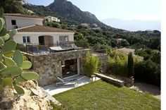 Surrounded by olive groves, with stunning ocean views, Villa Calvi belongs to a domain of 3 private properties. The villa is located in the charming village of Lumio,  which translates as 'light' in the Corsican language, as, according to legend it is the brightest village in the whole of France.