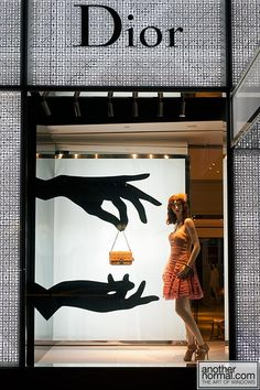 Less is more with window displays