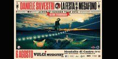 Daniele Silvestri: domani a Vulci la Festa del Megafono con ospiti, attrazioni e sorprese