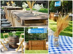 Oktoberfest theme decor | Event decor ideas | Pinterest ...