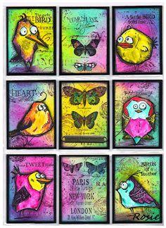 Rosie's Bastelwelt: Birds Crazy
