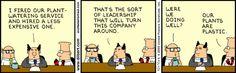 Business turnaround - Dilbert