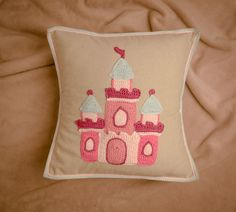 Castle cushion