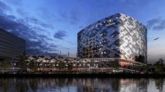 This is the new Hilton building due to be completed in 2015. Located at Schiphol, Amsterdam. We were proud to be supplier of the composite reinforcement material for this project which used Polymat Hi-Flow Max. Image supplied by http://www.rollecate.nl/en