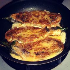 Tortang balasenas, panfried roasted eggplant in egg batter