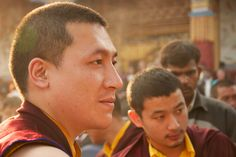 His Holiness 17th Karmapa Trinley Thaye Dorje at the Kagyu Mönlam of the Karma Kagyu Lineage in Bodhgaya 2012. https://www.flickr.com/photos/lamaontour/8295210612/in/set-72157632301530399