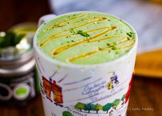 Mint Matcha Green Tea Latte.