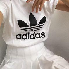 adidas and pleats