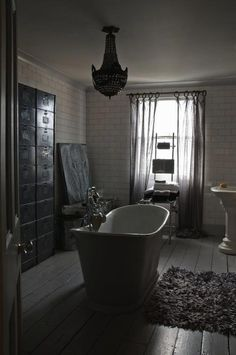 "En mood ""boyfriend "": La salle de bain version industrielle - Paperblog"